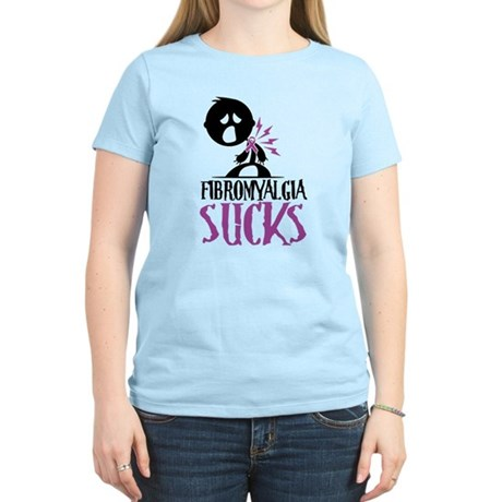 Fibromyalgia Sucks Women's Light T-Shirt