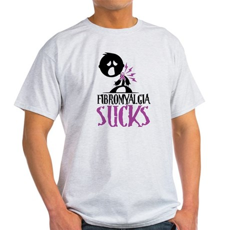 Fibromyalgia Sucks Light T-Shirt