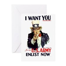I Want You Greeting Cards (Pk of 20)