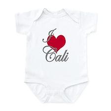 I love (heart) Cali Infant Bodysuit