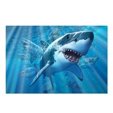 Great White 2 Postcards (Package of 8)