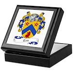 Cox Family Crest Keepsake Box