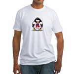 Republican Penguin Fitted T-Shirt