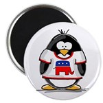 Republican Penguin Magnet
