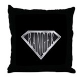 SuperRanger(metal) Throw Pillow