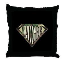 SuperRanger(camo) Throw Pillow