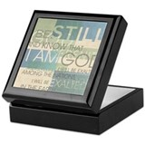 Psalm Scripture Collage Produ Keepsake Box
