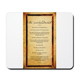 The Ten Commandments Artwork Mousepad