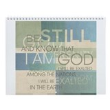 Contemporary Christian Wall Calendar