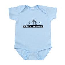 Texas Wind Farmer Infant Bodysuit
