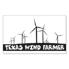 Texas Wind Farmer Decal