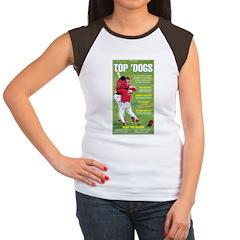 Top 'Dogs Women's Cap Sleeve T-Shirt