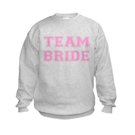 Team Bride Kids Sweatshirt