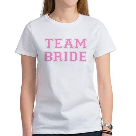 Team Bride Womens T-Shirt