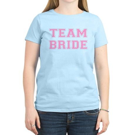 Team Bride Womens Light T-Shirt