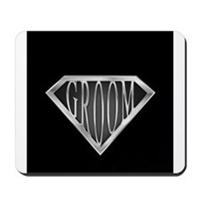 SuperGroom(metal) Mousepad