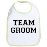 Team Groom Bib