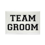 Team Groom Rectangle Magnet