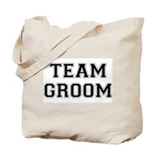 Team Groom Tote Bag