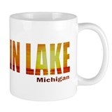 Hamlin Lake, Michigan Small Mug