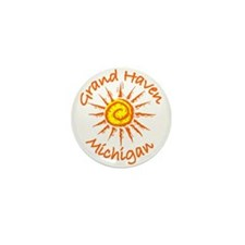 Grand Haven, Michigan Mini Button (10 pack)