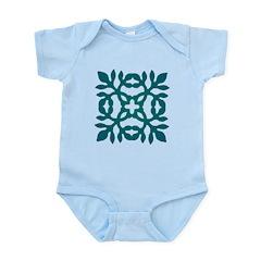 Green Papercut Infant Bodysuit
