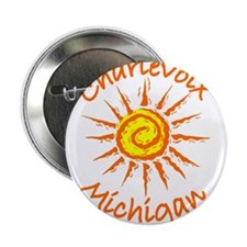 "Charlevoix, Michigan 2.25"" Button (100 pack)"