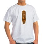 """It's Tiki Time!"" Light T-Shirt"