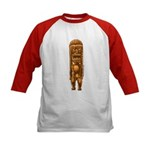 """It's Tiki Time!"" Kids Baseball Jersey"