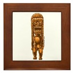 """It's Tiki Time!"" Framed Tile"