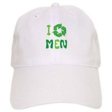 I Recycle Men Baseball Cap
