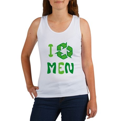 I Recycle Men Womens Tank Top