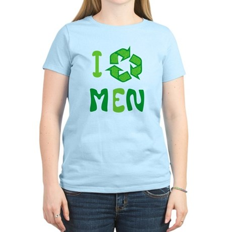 I Recycle Men Womens Light T-Shirt