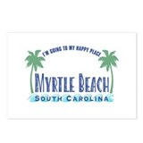 Myrtle Beach Happy Place - Postcards (Package of 8