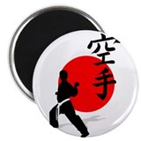 "Karate 2.25"" Magnet (10 pack)"