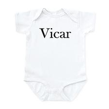 "Instant ""Vicar"" Costume Infant Creeper"