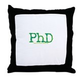 PhD Throw Pillow