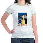 Bermuda Queen Jr. Ringer T-Shirt