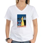 Bermuda Queen Women's V-Neck T-Shirt