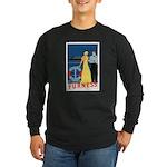 Bermuda Queen Long Sleeve Dark T-Shirt