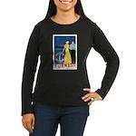 Bermuda Queen Women's Long Sleeve Dark T-Shirt