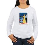 Bermuda Queen Women's Long Sleeve T-Shirt