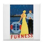 Bermuda Queen Tile Coaster