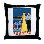 Bermuda Queen Throw Pillow