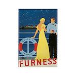 Bermuda Queen Rectangle Magnet (100 pack)