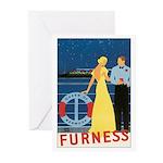 Bermuda Queen Greeting Cards (Pk of 10)