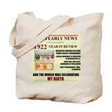born in 1922 birthday gift Tote Bag