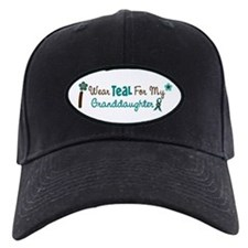 I Wear Teal For My Granddaughter 12 Baseball Hat