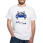 Dewar Family Crest White T-Shirt