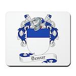 Dewar Family Crest Mousepad